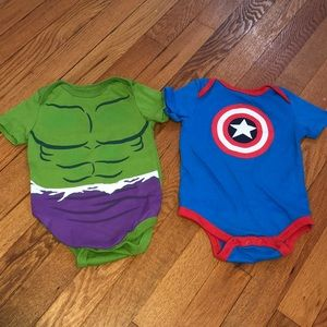 Marvel Kids onesies